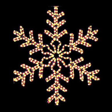 42 Point Snowflake, Clear Lights