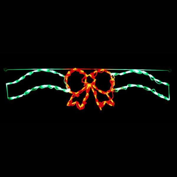 Bow and Ribbon (Red/Green)