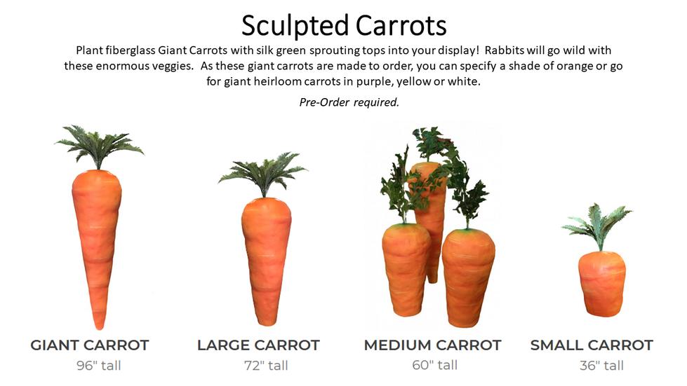 Sculpted Carrots