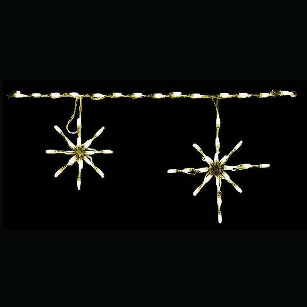 Snowflakes (Warm White)