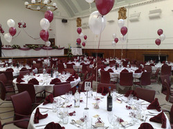 Wedding Table Balloons