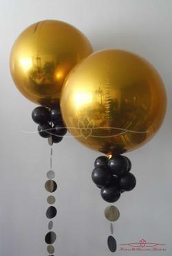 Floartbal Metallic Gold Balloons