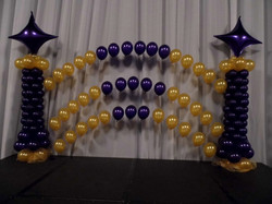 Corporate Balloon Arch