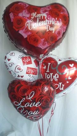 Large Valentines Balloons