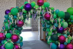Enchanted Forest Balloon Arch
