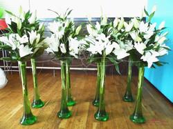 Table Flowers & Vases