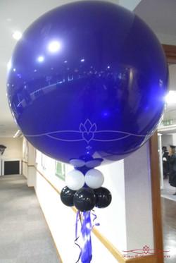 Blue Balloon display
