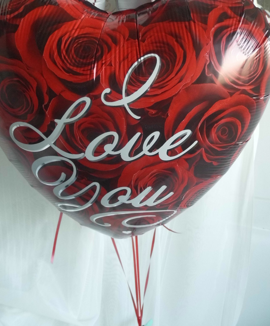 Classic Single Valentines Balloon