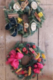 christmas course make your own wreath