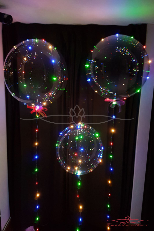 Lighted Balloons - Coloured