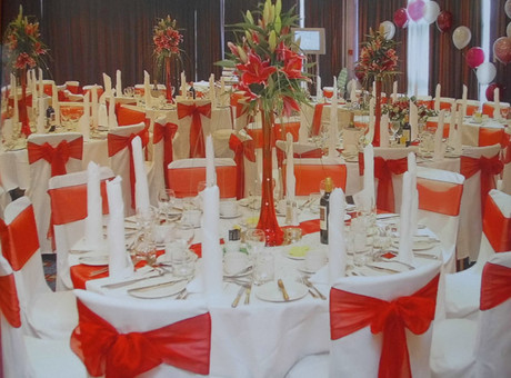 Venue decorating by Floral & Balloon Artistry