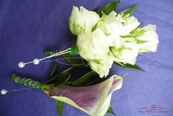 Groom Pin Hole Flower