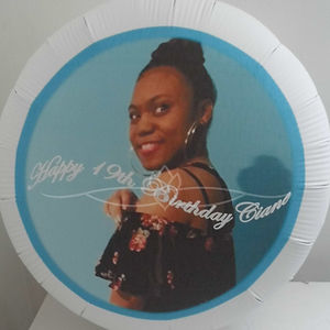 personalised balloon happy birthday