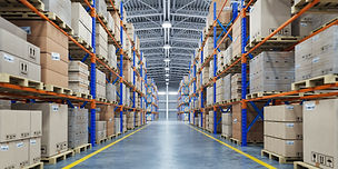 warehouse-or-storage-and-shelves-with-ca