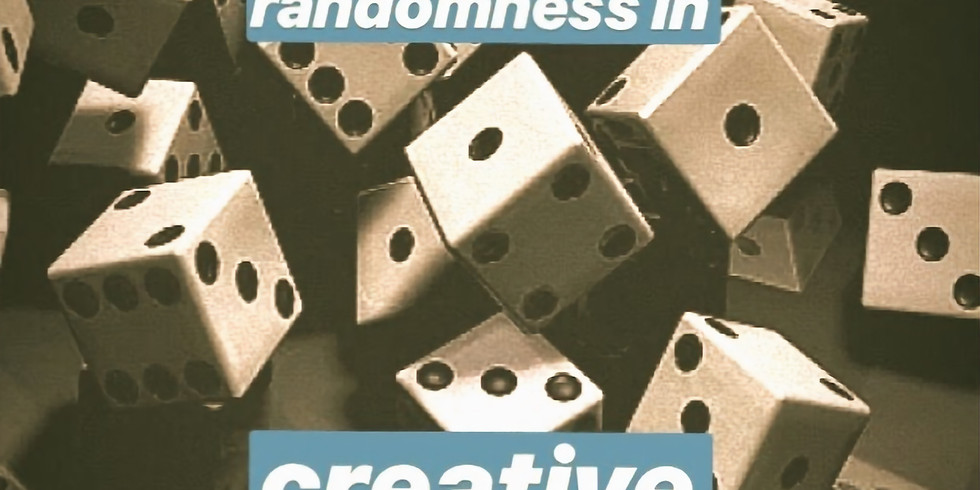 Using Randomness in Creative Writing (+ a FREE book and some FREE snacks)