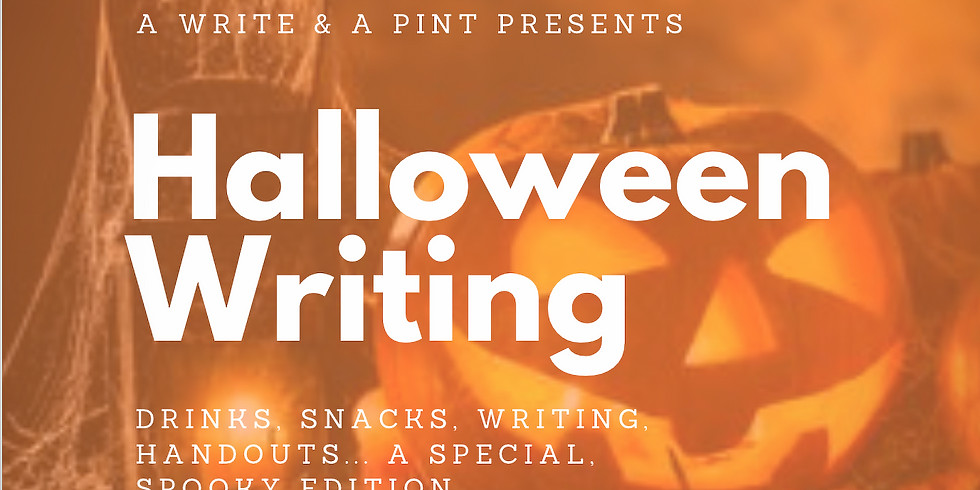 Halloween & Writing: a special edition + a free book, some free snacks, etc.