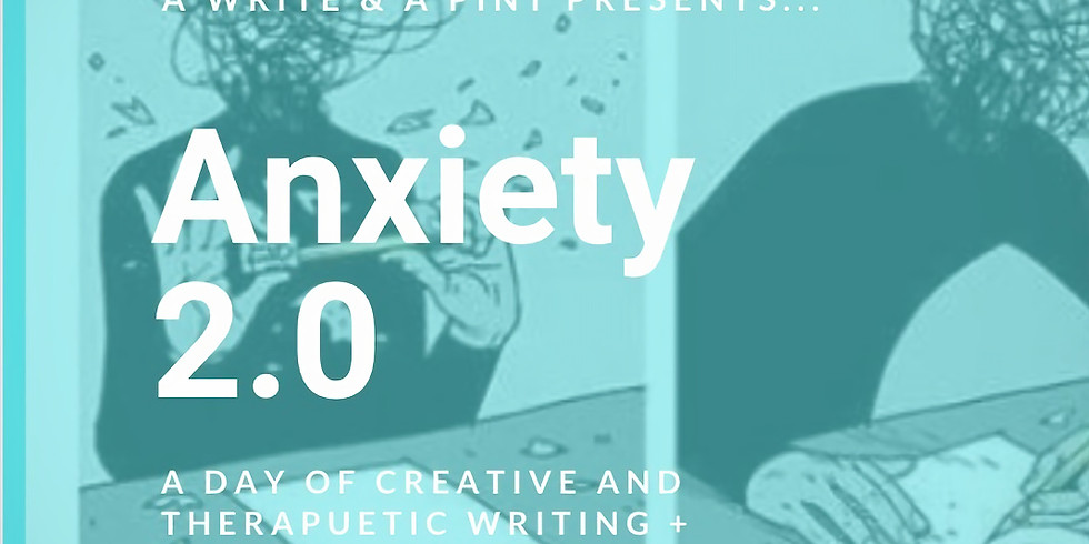Anxiety 2.0: a Creative & Therapeutic Writing Experience + Brunch + a FREE Book