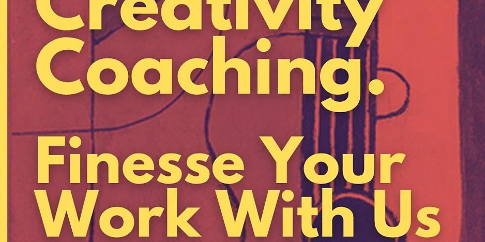 Creativity Coaching - One to One