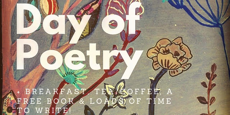 Poetry Writing for Beginners + Breakfast, tea/coffee, a FREE book & lots of writing!