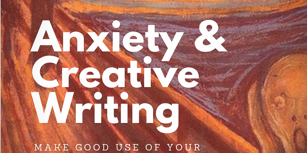 ANXIETY & Creative Writing + some FREE snacks, a FREE book, and a handout!