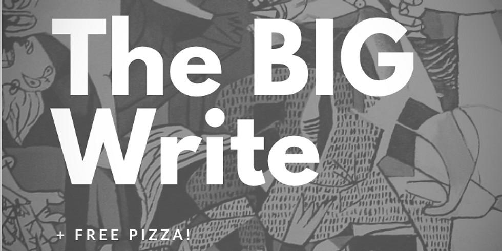 The BIG Write: Creative Writing + Video + Music + Games + FREE PIZZA!