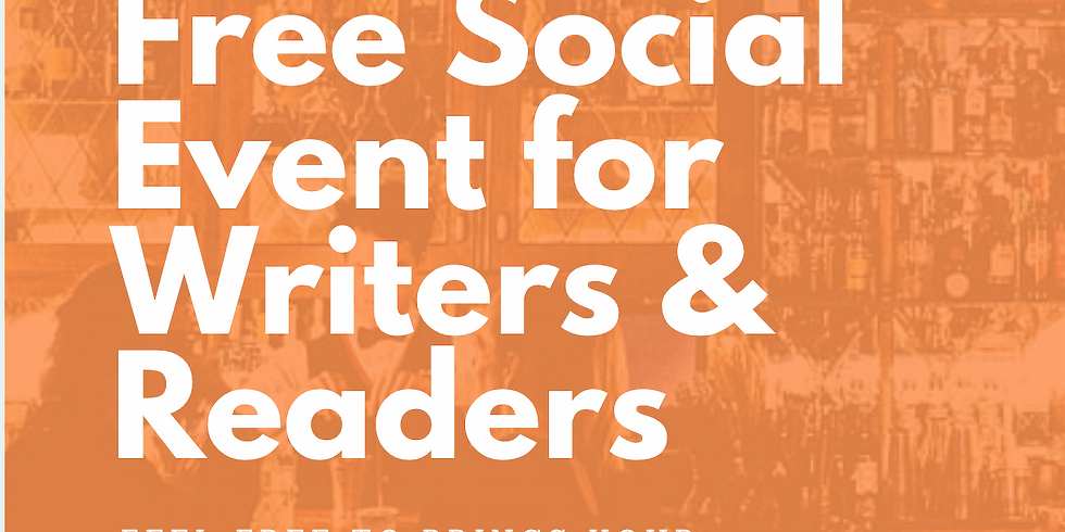 FREE Social Event for Writer and Readers of London!