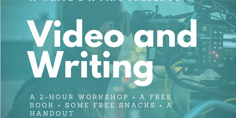 *SPECIAL PRICE* Video & Creative Writing + a FREE book & some FREE snacks! Sean (1)