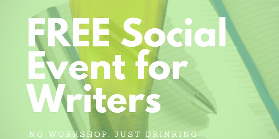 FREE SOCIAL EVENT for Writers and Readers of London!