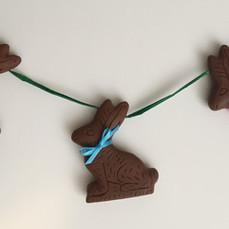 Chocolate Bunny Garland