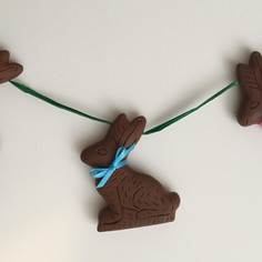 Chocolate Bunny Garland
