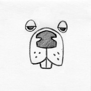 Beaver Face Design