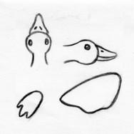Duck Plush Pet Toy