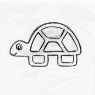Turtle Teether Pet Toy
