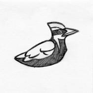 Woodpecker 3D Plush Pet Toy #1