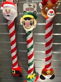 Holiday Long Neck Plush Pet Toys