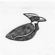 Woodpecker 3D Plush Pet Toy #2