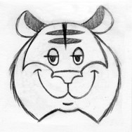 Tiger Face Design