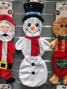 Holiday Flatties Pet Toys