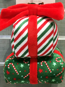 Holiday Gift Box Stack Pet Toy