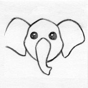 Elephant Face / Head Design