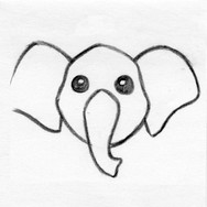 Elephant Face / Head Design