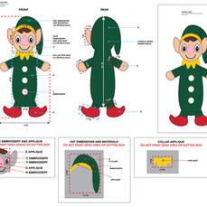 Elf Flattie Pet Toy Tech Pack