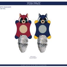 Raccoon 3D Plush Pet Toy