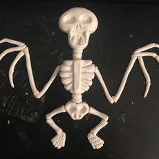 Bat Skeleton Clay Sculpt