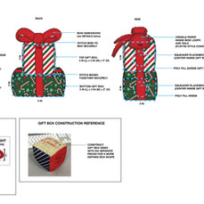 Holiday Gift Box Pet Toy Tech Pack
