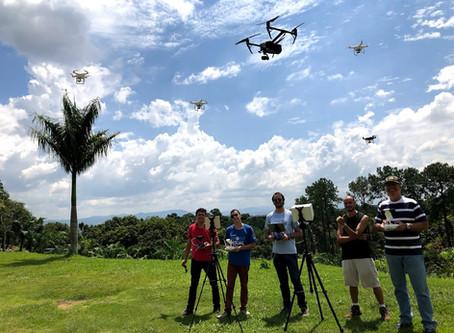 MERCADO DE DRONE VAI ALÉM E PROFISSIONALIZA TECNOLOGIA