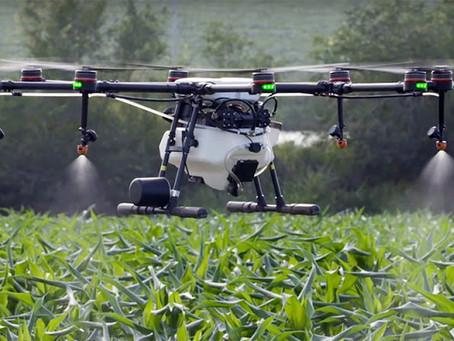 USO DOS DRONES NA PULVERIZAÇÃO GERAM ECONOMIA AO PRODUTOR RURAL