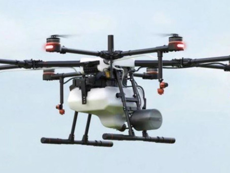 DJI LANÇA DRONE PULVERIZADOR, AGRAS MG-1P
