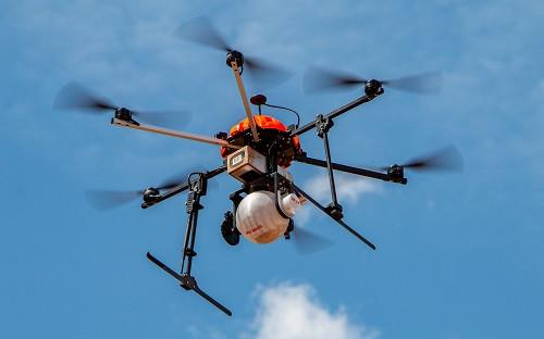 drone controle biológico