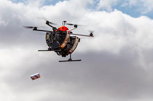 controle biológico drone